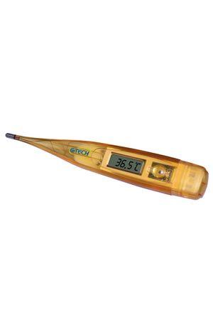 Termômetro Clínico Digital Laranja G-Tech