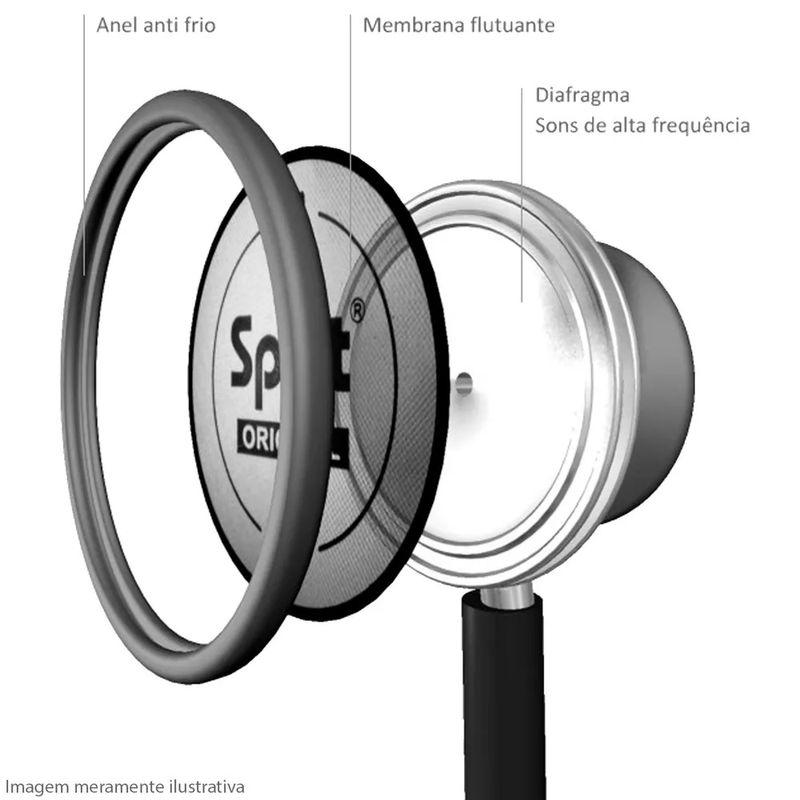 Estetoscopio-Spirit-Pro-Lite-Adulto-Black-Edition