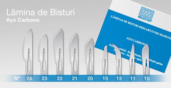Laminas-de-Bisturi-Descartaveis-n_22-Maxicor-Caixa-com-100-unidades