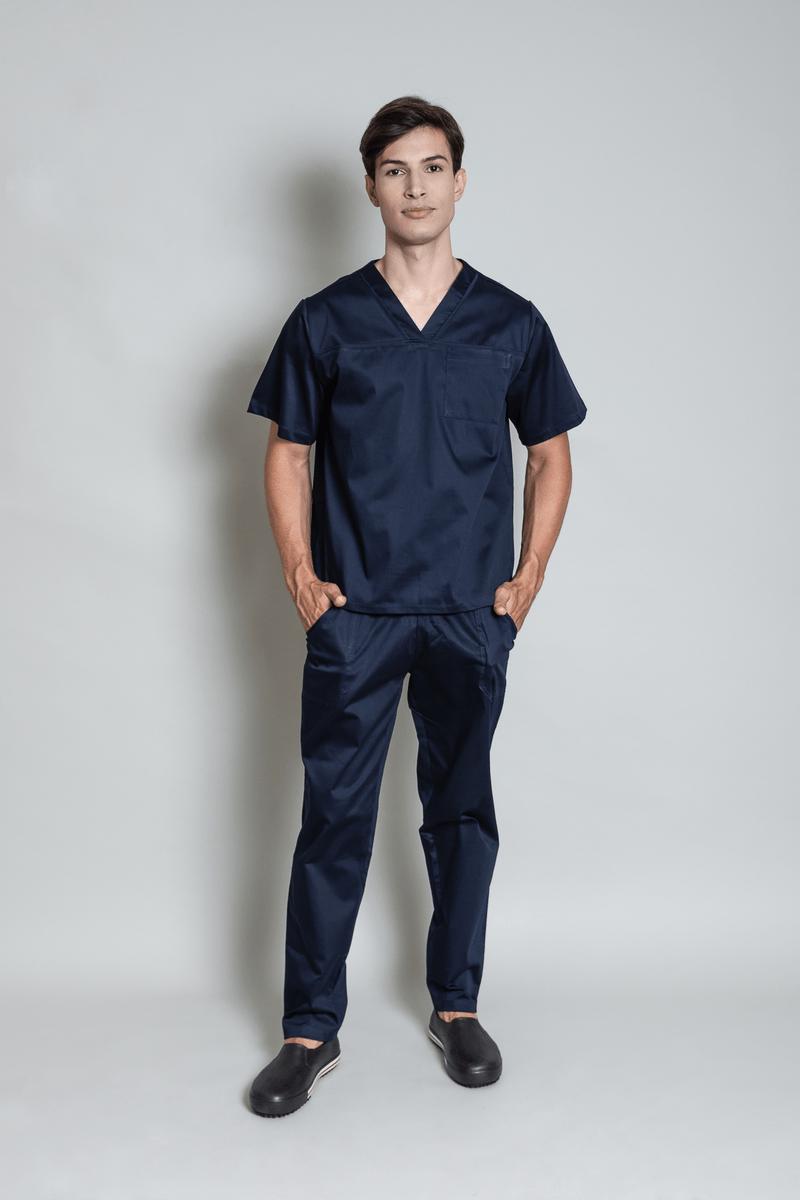 conjunto-pijama-cirurgico-masculino-sarja-marinho-1