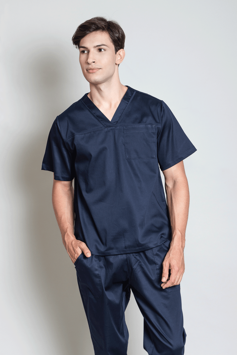 conjunto-pijama-cirurgico-masculino-sarja-marinho-2
