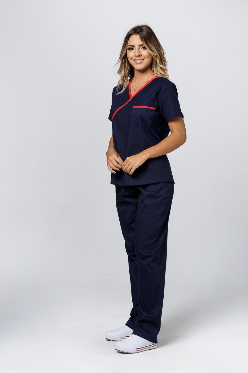 conjunto-pijama-cirurgico-feminino-sarja-marinho-com-vies-vermelho-2