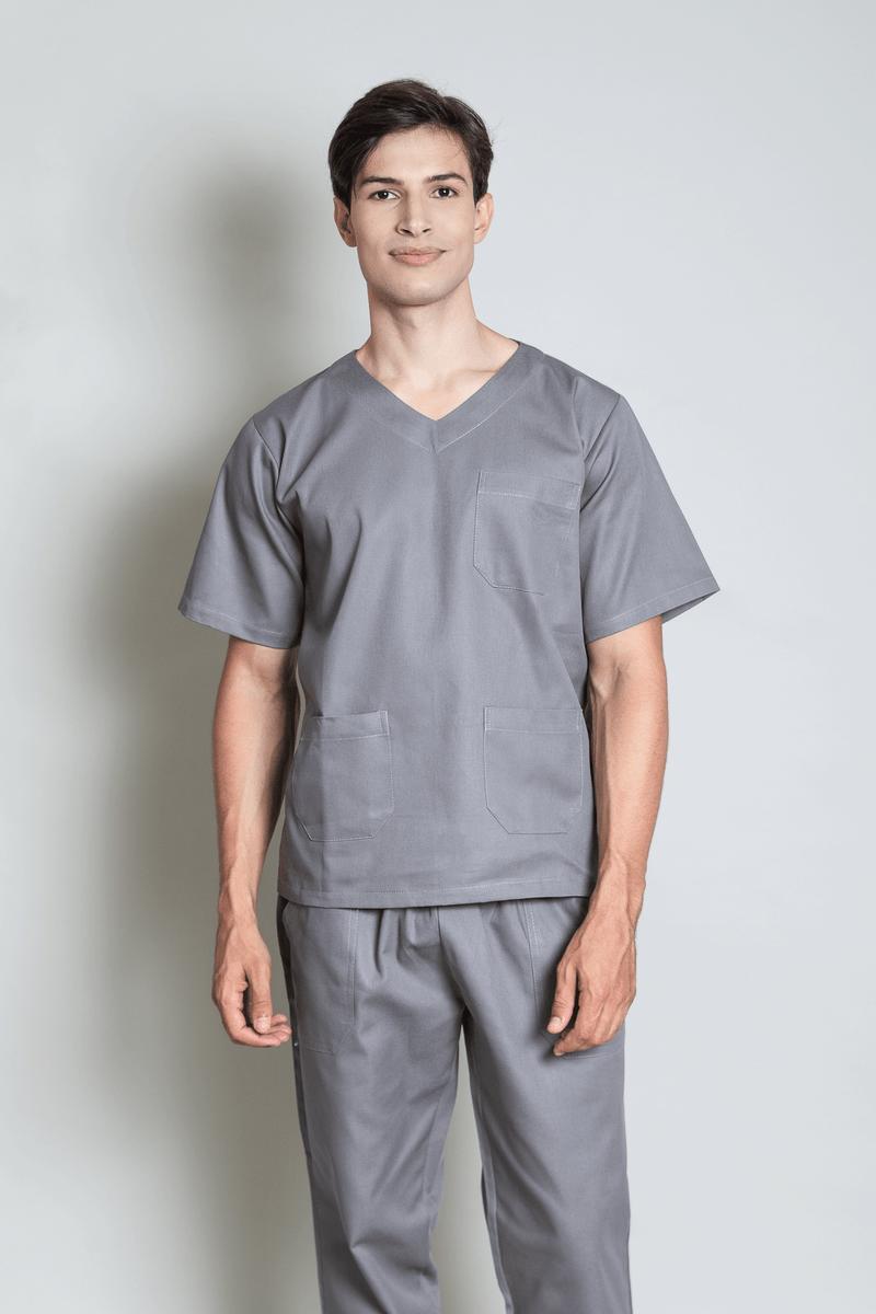 conjunto-pijama-cirurgico-masculino-brim-leve-cinza-2