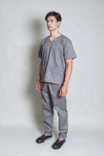 conjunto-pijama-cirurgico-masculino-brim-leve-cinza-3
