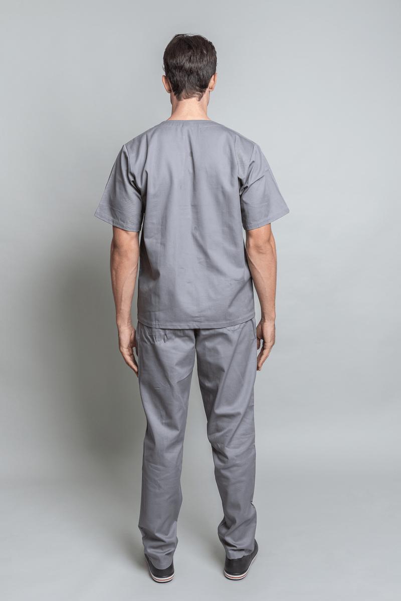 conjunto-pijama-cirurgico-masculino-brim-leve-cinza-4