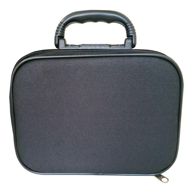 maleta-medica-academica-632-nylon-pinton-preta-1