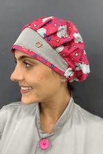 touca-cirurgica-feminina-tricoline-rosa-cinza-gatinhos-2