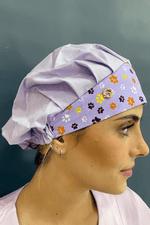 touca-cirurgica-feminina-tricoline-lilas-patinhas-2